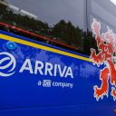 Logo van een Arriva-bus in Limburg