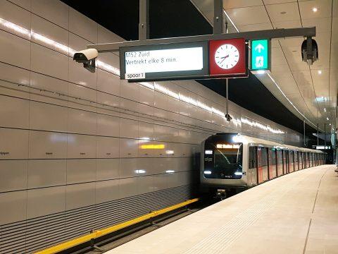 Metrostation Noord/Zuidlijn Vijzelgracht