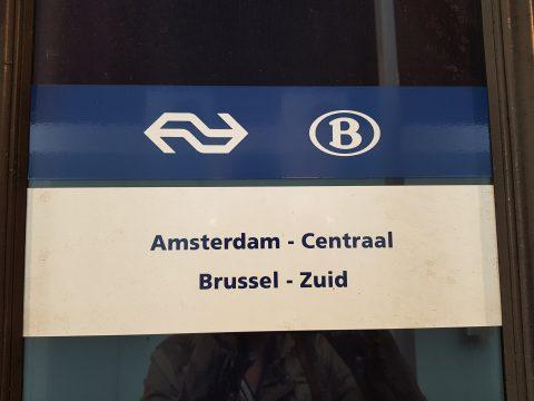 Trein Amsterdam - Brussel, Beneluxtrein naar België