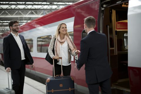 Reiziger Thalys (foto: Thalys)