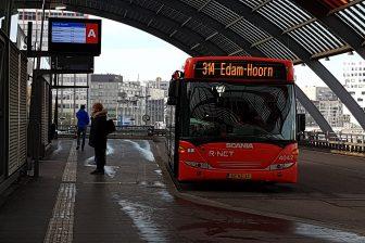 EBS-bus naar Hoorn op Amsterdam Centraal