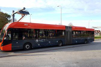 Elektrische bus van EBS in concessie Waterland (Edam)
