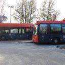EBS-bussen op busstation Edam