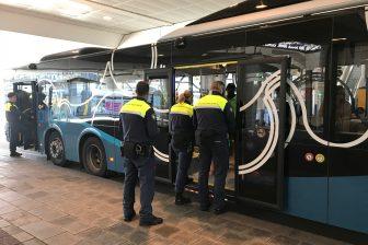 BOA's controleren bus Keolis