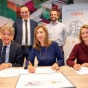 Ondertekening learning community van Arriva en BUAS