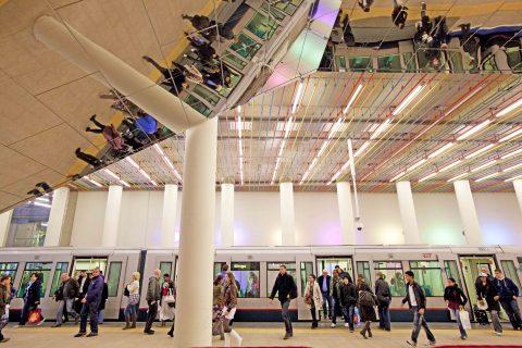Metro Rotterdam CS (bron: Robin Utrecht)
