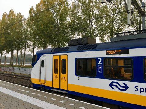 Sprinter op spoor (foto: NS)