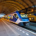 Sprinter Nieuwe Generatie op station Haarlem (foto: NS)
