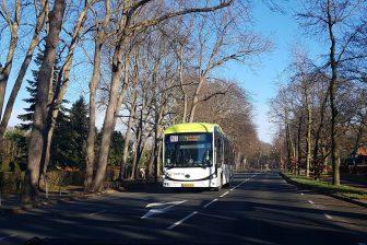 Elektrische bus BYD Connexxion in Heiloo