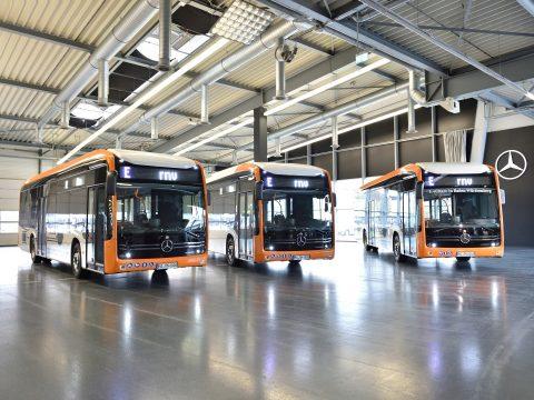 Elektrische stadsbussen van Mercedes-Benz