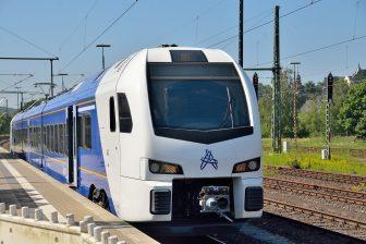 Trein Maastricht-Aken (foto René Hameleers, Arriva)
