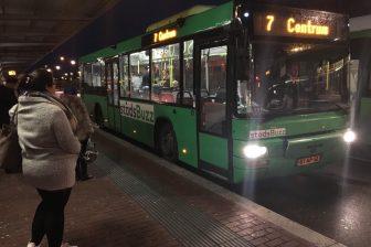 Stadsbus Qbuzz in Dordrecht