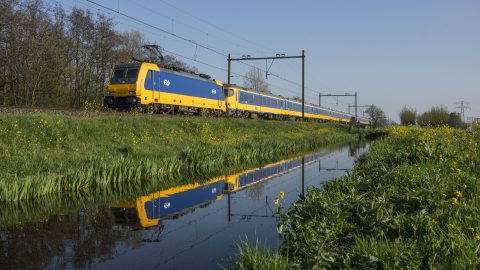 Intercity Direct op de HSL-Zuid (bron: NS)