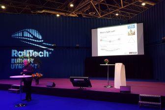 Rob van der Bijl op RailTech