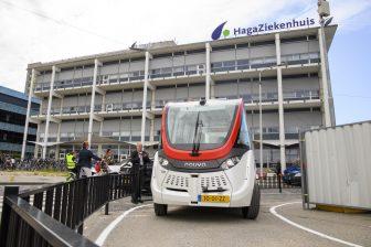 HagaShuttle, zelfrijdende bus, HTM, Den Haag