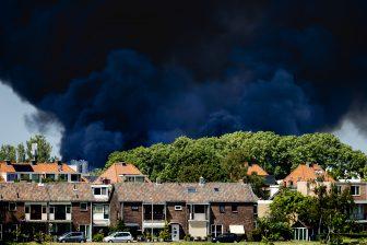 Brand Berkel en Rodenrijs (bron: ANP)