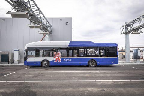 Laadlocatie Arriva-bus Limburg