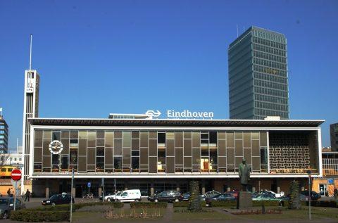 Station Eindhoven van voren (foto: NS)