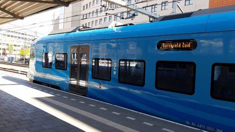 Valleilijn op station Amersfoort