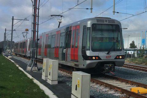 Metro Hoekse Lijn in Vlaardingen (bron: Josmaissan/instagram)