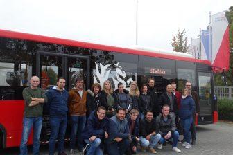 Nieuwe buschauffeurs na BBL-traject keolis