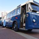 Historische trolleybus Arnhem