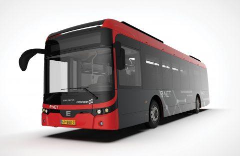 Elektrische bus Ebusco voor AML