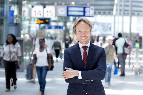 NS-directeur Tjalling Smit (foto: NS/ Foto; Arenda Oomen)