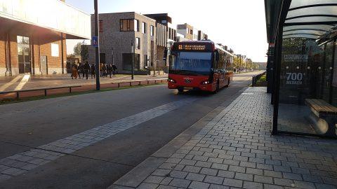 Buslaan voor Syntus Twente in Enschede