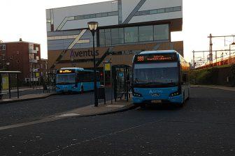 Bussen Arriva in Zutphen