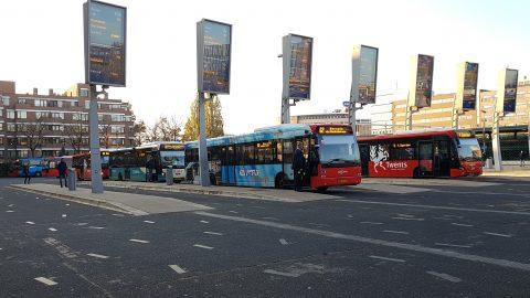 Bussen van Syntus Twente in Enschede