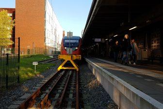 Trein naar Dortmund op Enschede