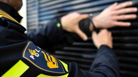 Aanhouding met boeien (bron: politie)