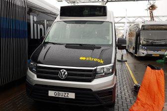 Streekbusje van Tribus in Groningen
