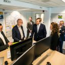 OV-bureau bezoek Willem-Alexander (bron: LSfotografie.nl)