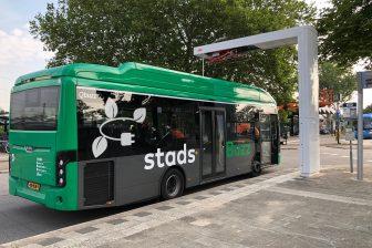 Elektrische bus StadsBuzz DMG Qbuzz