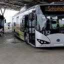 Busvervoer op Schiphol met BYD-bussen
