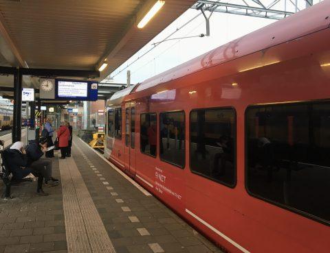 Trein R-NET Dordrecht
