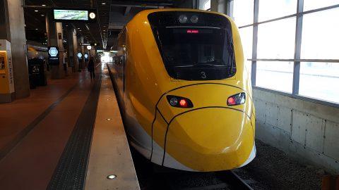 Trein in Stockholm in Zweden