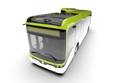 Ebusco-bus van 18M met cameraysteem (bron: Ebusco)