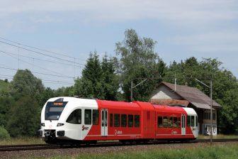 GTW-trein van Arriva in Groningen (foto: Stadler)
