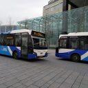 Arriva-bussen in Leeuwarden, Friesland