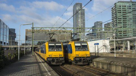 Treinen Den Haag Centraal. Foto: beeldbank NS