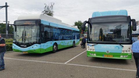 Waterstofbussen van keolis