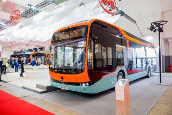 BYD bus op Busworld