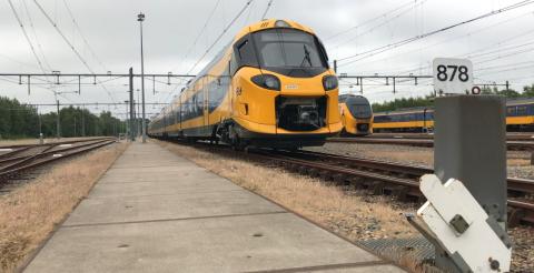 ICNG op Nederlandse spoor (Bron: NS)