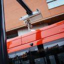 Pantograaf elektrische bus (foto: Arriva)