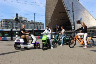 Rotterdamse RET werkt samen met deelvervoerders
