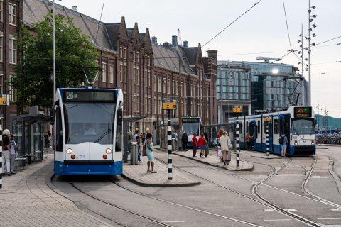 Tramlijn 26 van de GVB, bron: GVB Verbindt