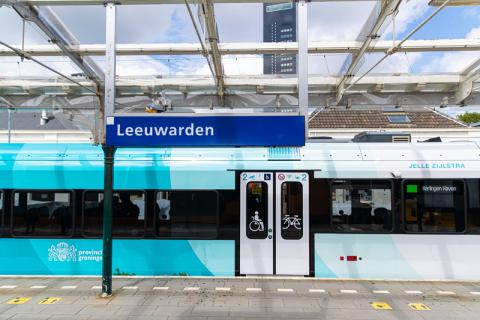 Vernieuwde GTW op Leeuwarden (Stefan Verkerk Fotografie en Webdesign 2020)